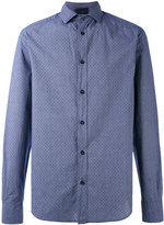 Armani Jeans woven polka dot shirt