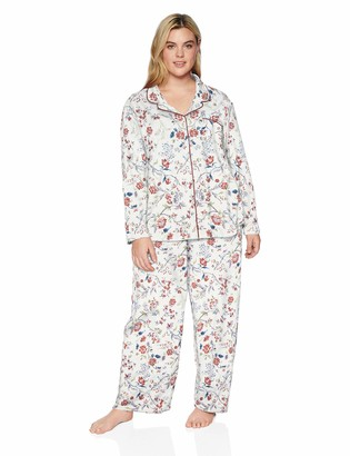 Karen Neuburger Petite Women's Long-Sleeve Girlfriend Pajama Set PJ