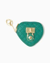 Charming charlie Quilted Coin Purse Keychain