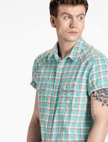 Lucky Brand Classic Western Short Sleeve Shirt