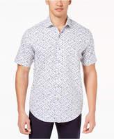 Tasso Elba Men's Floral-Print Shirt, Created for Macy's