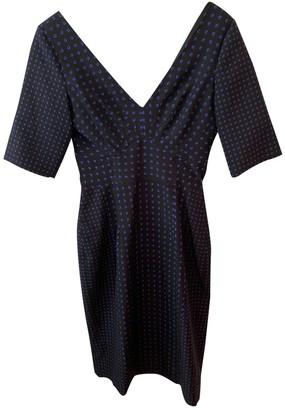 Emilio De La Morena Black Silk Dress for Women