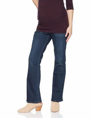 Motherhood Maternity Women's Maternity Indigo Blue Stretch Secret Fit Belly Boot Cut Denim Jean