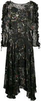 Preen by Thornton Bregazzi Ermin star and floral print dress - women - Silk/Viscose - M
