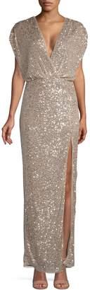 TFNC Rinah Sequin Maxi Dress