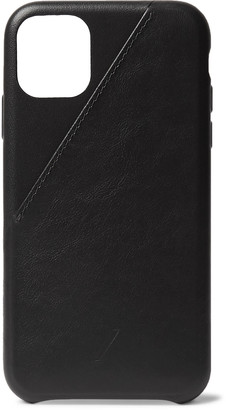 Native Union Clic Card Leather Iphone 11 Case