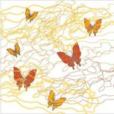 Avalisa Butterfly Trails Stretched Print