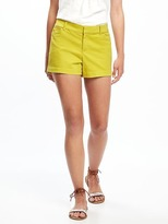 "Old Navy Pixie Chino Shorts for Women (3 1/2"")"