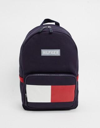 Tommy Hilfiger hayes canvas flag backpack