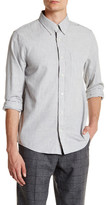 Jack Spade Keyes Heathered Trim Fit Shirt