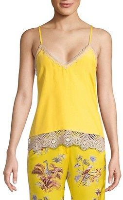 le superbe Abbot Lace-Trimmed Cami