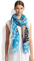Yarnz Surfer Girl Linen & Rayon Scarf