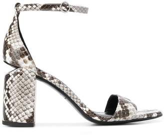 Alexander Wang snakeskin sandals