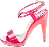 Chloé Patent Leather Sandals