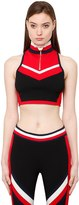 Tommy Hilfiger Collection Racerback Knit Crop Top