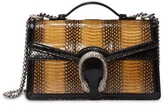 Gucci Dionysus snakeskin top handle bag
