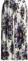 Scattered floral print skirt