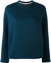 Marni crew neck scuba sweatshirt - women - Cotton/Polyamide - 38
