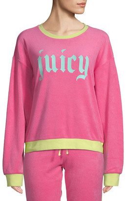 Juicy Couture Gothic Pullover Sweatshirt