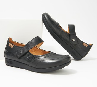 PIKOLINOS Leather Mary Jane Shoes