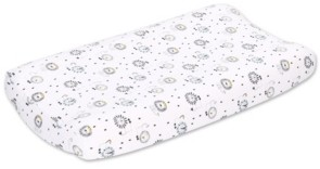 The Peanut Shell The Lil King Changing Pad Cover Bedding