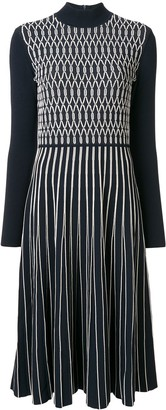 Tory Burch Striped Knit Sweater Dress