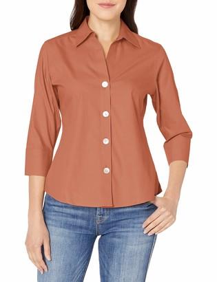 Foxcroft Women's Petite Non-Iron Essential Paityn Shirt