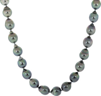 Baggins Tahitian and White South Sea Pearl Necklace