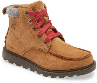 Sorel Madson Waterproof Moc Toe Boot