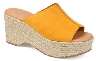 Journee Collection Karmen Espadrille Platform Sandal