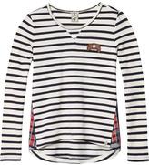Scotch & Soda Stripes & Tartan T-Shirt