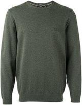 HUGO BOSS crew neck jumper - men - Cotton - M