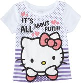 Hello Kitty Graphic T-Shirt (Toddler/Kids) - Lilac-3T