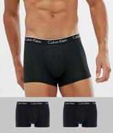 Calvin Klein 2 Pack Trunks in black