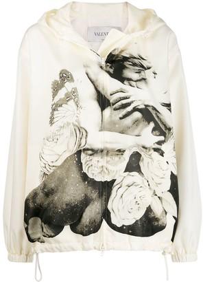 Valentino x Undercover Lovers zipped sweatshirt