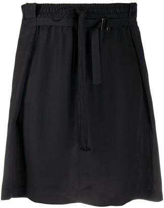 Ann Demeulemeester Front-Gathered Skirt
