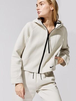Nike Women's Sportswear Tech Fleece Engineered All-Over Jacquard Full Zip Hoodie
