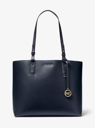 MICHAEL Michael Kors Cameron Large Leather Reversible Tote Bag