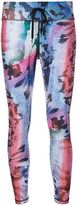 The Upside abstract print leggings