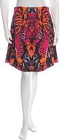 McQ by Alexander McQueen Digital Print Mini Skirt
