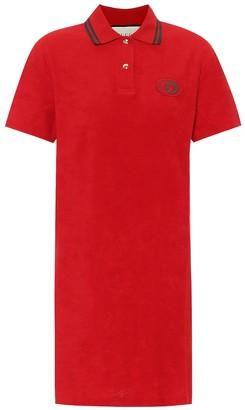 Gucci Cotton pique shirt dress