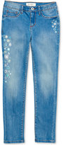 Jessica Simpson Kiss Me Embroidered Skinny Jeans, Big Girls (7-16)