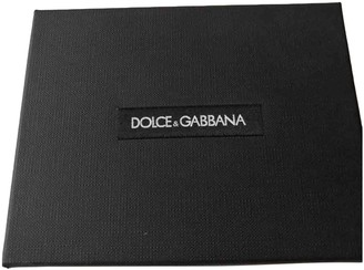 Dolce & Gabbana Black Leather Small bags, wallets & cases