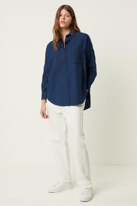 French Connection Letiz Chambray Button Through Shirt