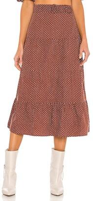 Faithfull The Brand Farida Midi Skirt