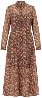Y.A.S Floral Maxi Long Sleeve Yasnoida Dress - xsmall