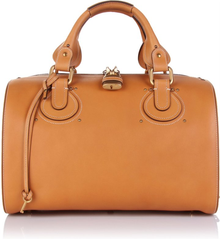 Chloé Aurore Duffle Leather Bag