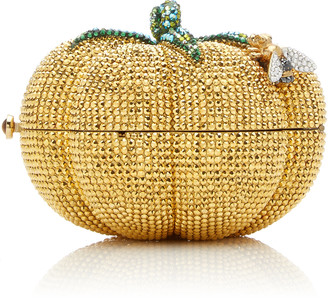 Judith Leiber Couture Golden Tomato Crystal Archive Clutch