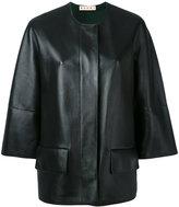 Marni biker jacket - women - Lamb Skin - 38