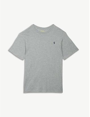 Ralph Lauren Logo-print cotton T-shirt 7-14 years